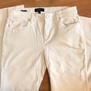 Talbots white jeans